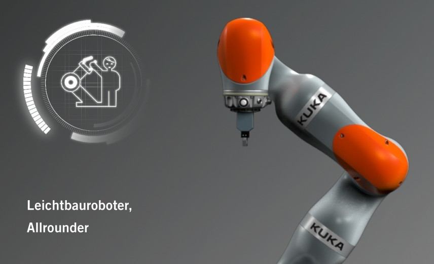 Mensch und Roboter Leichtbauroboter Mercedes-Benz